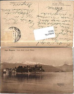 78525,Lago di Maggiore Isola Bella Isola Madre
