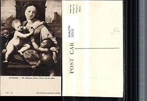 322132,Künstler AK Raphael Madonna Infant Christ and