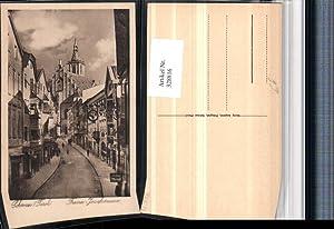 328816,Schwaz Franz Josefstraße Straßenansicht Julius Meinl Kirche