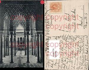 452396,Spain Granada Alhambra Patio de los Leones