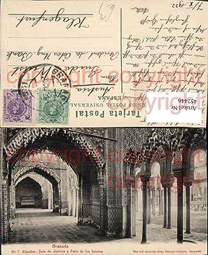 452446,Spain Granada Alhambra Sala de Justicia y