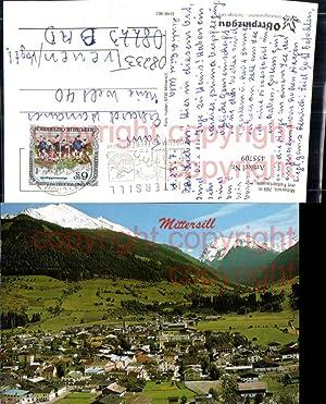 455709,Mittersill Totale m. Felbertauern Bergkulisse