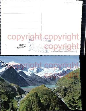 455711,Kaprun Kraftwerk Stausee Talsperre Mooserboden Bergkulisse