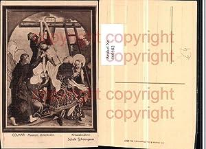 460582,Künstler AK Colmar Kreuzabnahme Jesus Religion