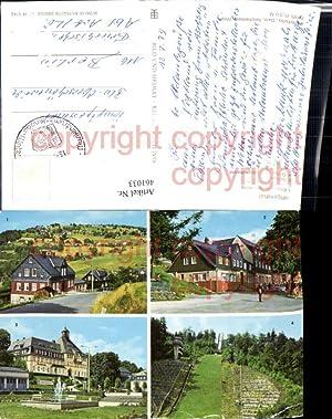 461033,Klingenthal Rathaus Aschberg-Schanze Mehrbildkarte pub VEB