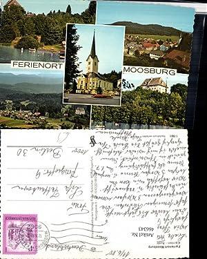 466343,Moosburg Totale Kirche Schloss Mehrbildkarte