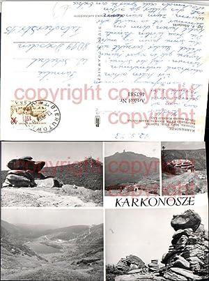 467581,Poland Karkonosze Szrenica Maly Staw Sniezka Mehrbildkarte