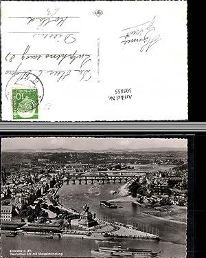 305855,Koblenz am Rhein Totale m. Deutschen Eck