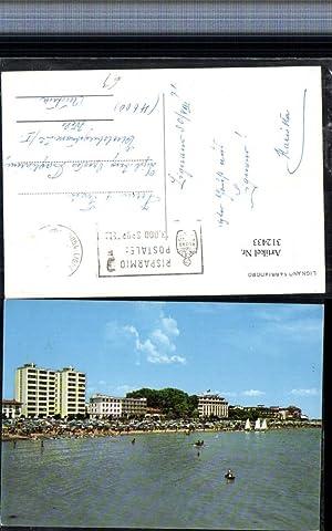 312433,Friuli-Venezia-Giulia Udine Lignano Sabbiadoro Strand Strandleben Hotels
