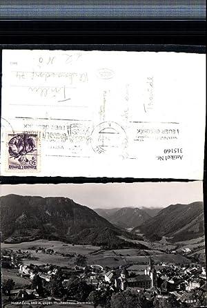 315160,Mariazell Totale geg. Hochschwab Bergkulisse