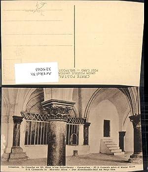 329263,Jerusalem S. Genacolo in Monte Sion Der