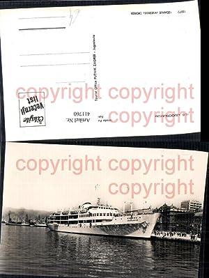 411760,Hochseeschiff Schiff M/B Jugoslavija Hafen