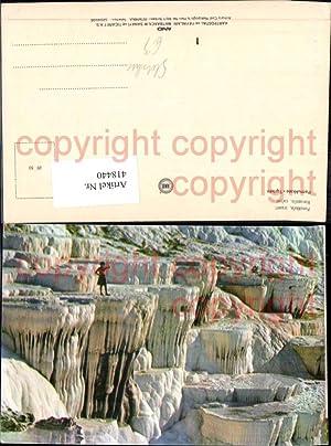 418440,Pamukkale Turkei Hierapolis calcer Sinterterrassen Gesteinsformationen Kalkstein
