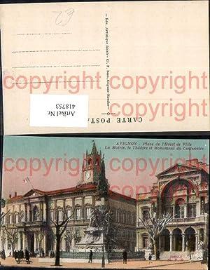 418753,Avignon Place de l Hotel de Ville