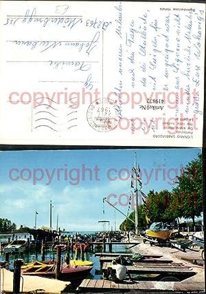 419872,Friuli-Venezia-Giulia Udine Lignano Sabbiadoro Porticciolo Hafen Boote