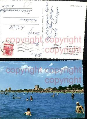 419893,Friuli-Venezia-Giulia Udine Lignano Sabbiadoro Vista dal mare