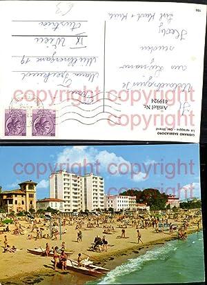 419924,Friuli-Venezia-Giulia Udine Lignano Sabbiadoro Spiaggia Strand Strandleben