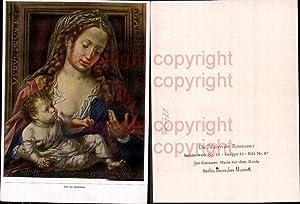 425728,Künstler Ak Jan Gossaert Maria m. d.