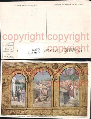 430121,Antike Boston Public Library Philosophy Astronomy History