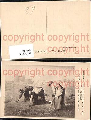 430248,Künstler Ak Francois Millet The gleaners Les