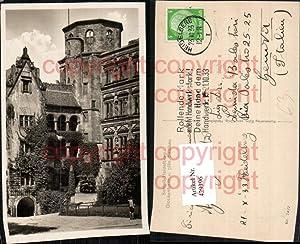 429396,Heidelberg Schloss Glockenturm u. Saalbau