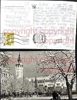 433410,Romania Tirgu Targu Mures Kulturpalast Gebäude Turm