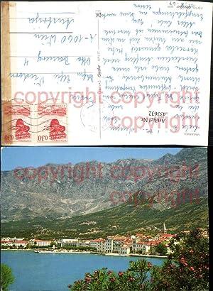 433632,Coratia Makarska Totale Bergkulisse