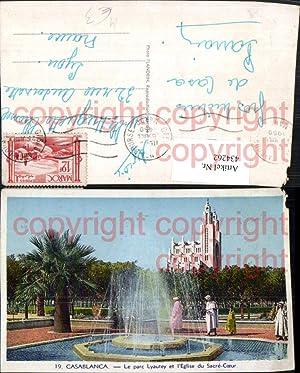 434262,Morocco Casablanca Le parc Lyautey et l'Eglise
