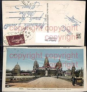 431307,Kolonial Ausstellung Exposition Coloniale Internationale Paris 1931
