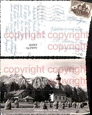 436228,Judenstein in Tirol b. Rinn Kirche Bergkulisse