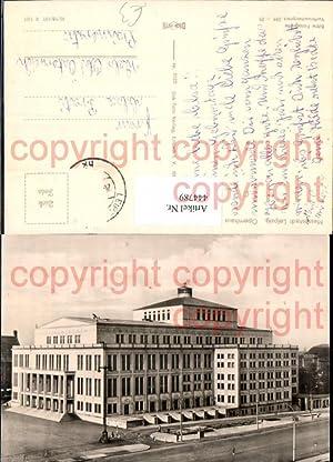 444789,Foto Ak Leipzig Opernhaus Oper