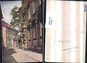 295263,Prag Praha Palais Clam-Gallas u. Klementinum Straßenansicht