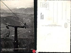 386870,Berglift Sessellift Maria Schutz Sonnwendstein geg. Schneeberg