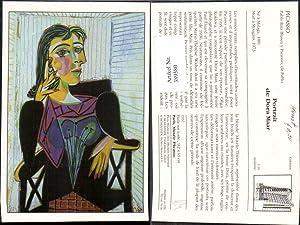 389580,Repro Künstler Ak Pablo Picasso Portrait de