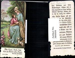 389599,Andachtsbild Heiligenbildchen Lied d. hl. Kasimir Maria