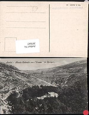 397047,Umbria Perugia Assisi Monte Subasio con l'Eremo