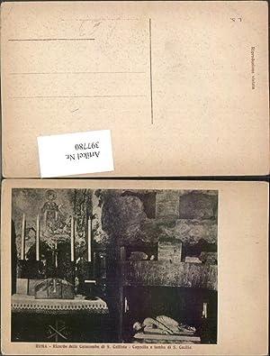 397780,Lazio Roma Rom Ricordo delle Catacombe di