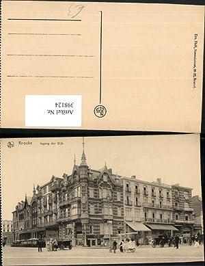 398124,Belgium Knocke Knokke-Heist Ingang der Dijk Hotel