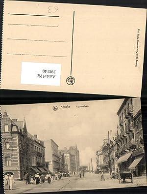 398140,Belgium Knocke Knokke-Heist Lippenslaan Straßenansicht
