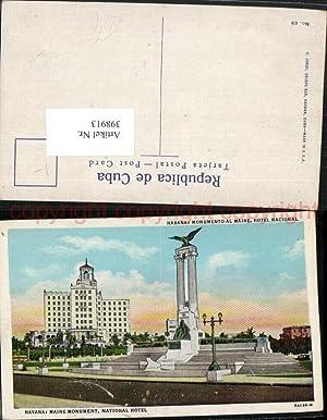 398913,Cuba Havana Monumento al Maine Monument Hotel