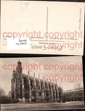 401698,England Eton College Chapel Schule Kirche