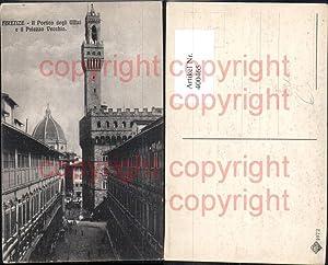 400465,Kirche Firenze Florenz Il Portico degli Uffizi