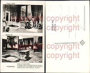 411351,Foto Ak Qual Era Pompei Casa di
