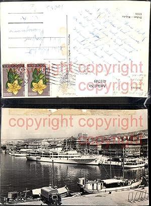 411749,Hochseeschiffe Schiffe Jugoslavija Rijeka Hafen