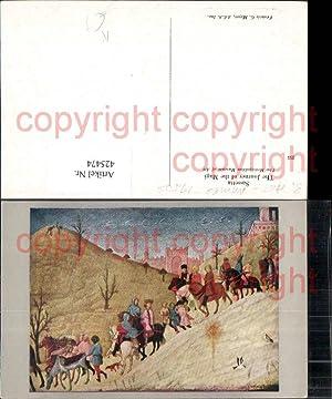 425474,Künstler Ak Sassetta The Journey of the