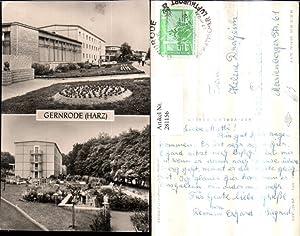 281156,Gernrode im Harz FDGB-Ferienheim Fritz Heckert Mehrbildkarte