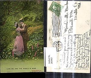 283983,Liebe Paar Umarmung i. Garten Park Love