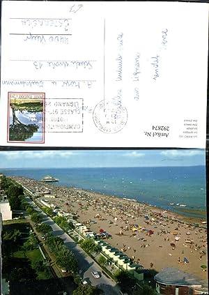 292874,Friuli-Venezia-Giulia Udine Lignano Sabbiadoro Spiaggia Strand Promenade