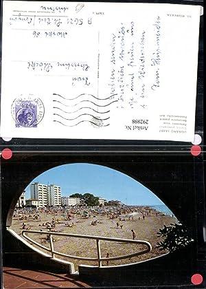 292898,Friuli-Venezia-Giulia Udine Lignano Sabbiadoro Durchblick zum Strand