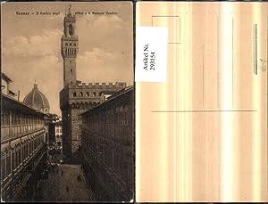 293154,Toscana Firenze Florenz Il Portico degli Uffizi